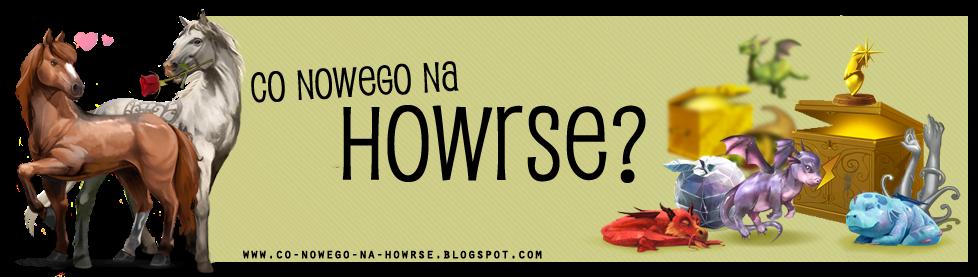 Co nowego na howrse?