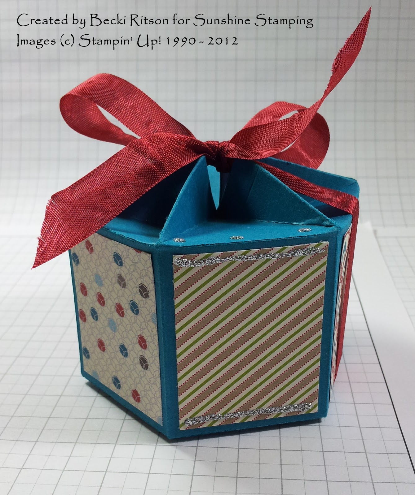 Sunshine stamping with independent stampin 39 up for Make your own christmas gift baskets