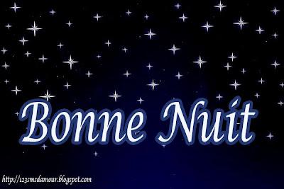 Jolie message pour dire bonne nuit
