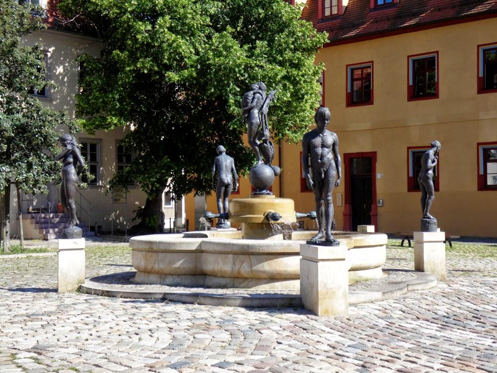 Brühmann-Brunnen auf dem Domplatz