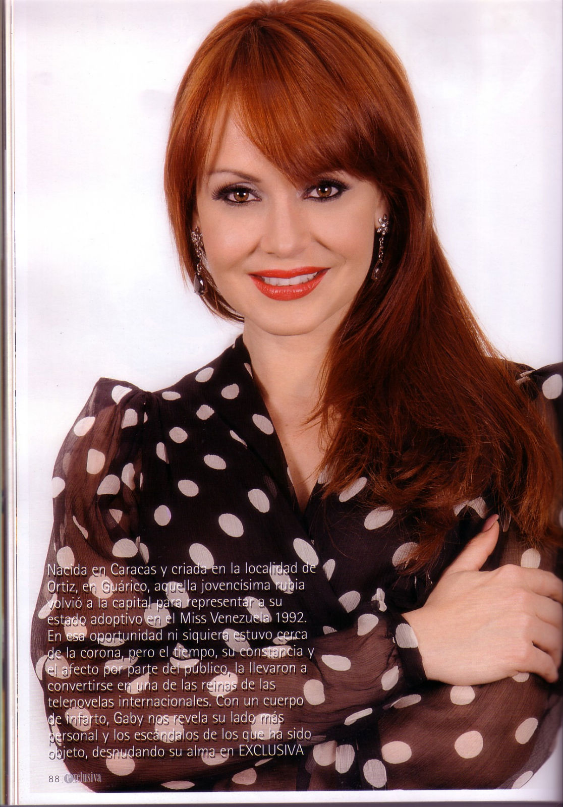 Imagenes Gaby Spanic revista 2011