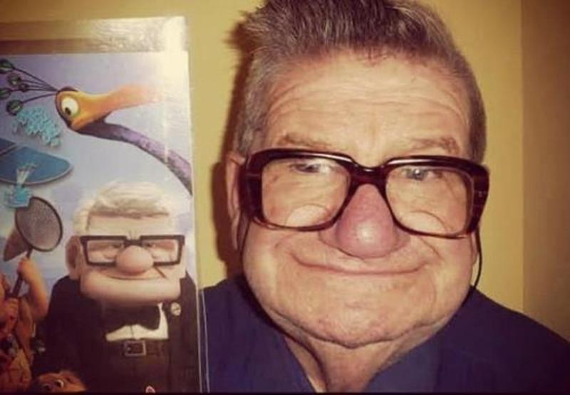 Cartoon Old Man From Up