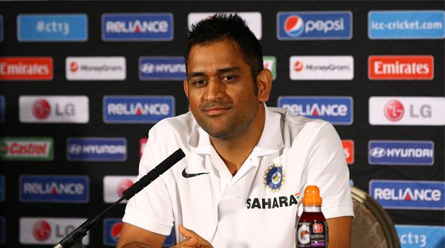 MS Dhoni ICC Champion Trophy 2013