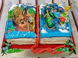 3D-Book Cake