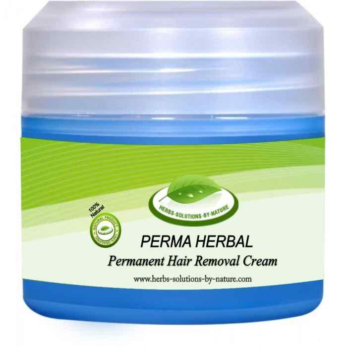 Make natural hair removal cream