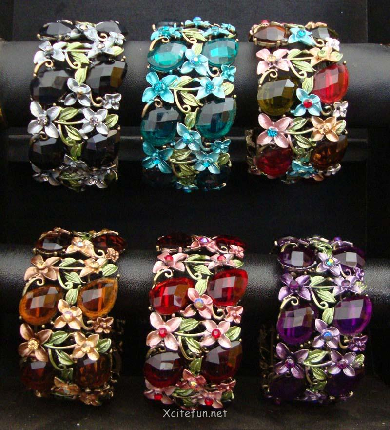Polki Kundan Flowery Bangles Fabulous Collection