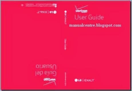 LG Exalt VN360 Manual Cover