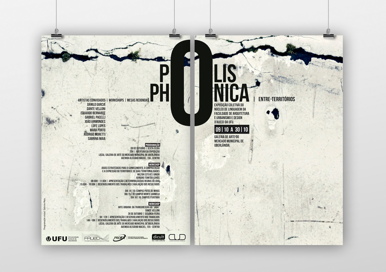 01dzn polisphonica 2015 graphic design invitation poster sbado 3 de outubro de 2015 stopboris Gallery