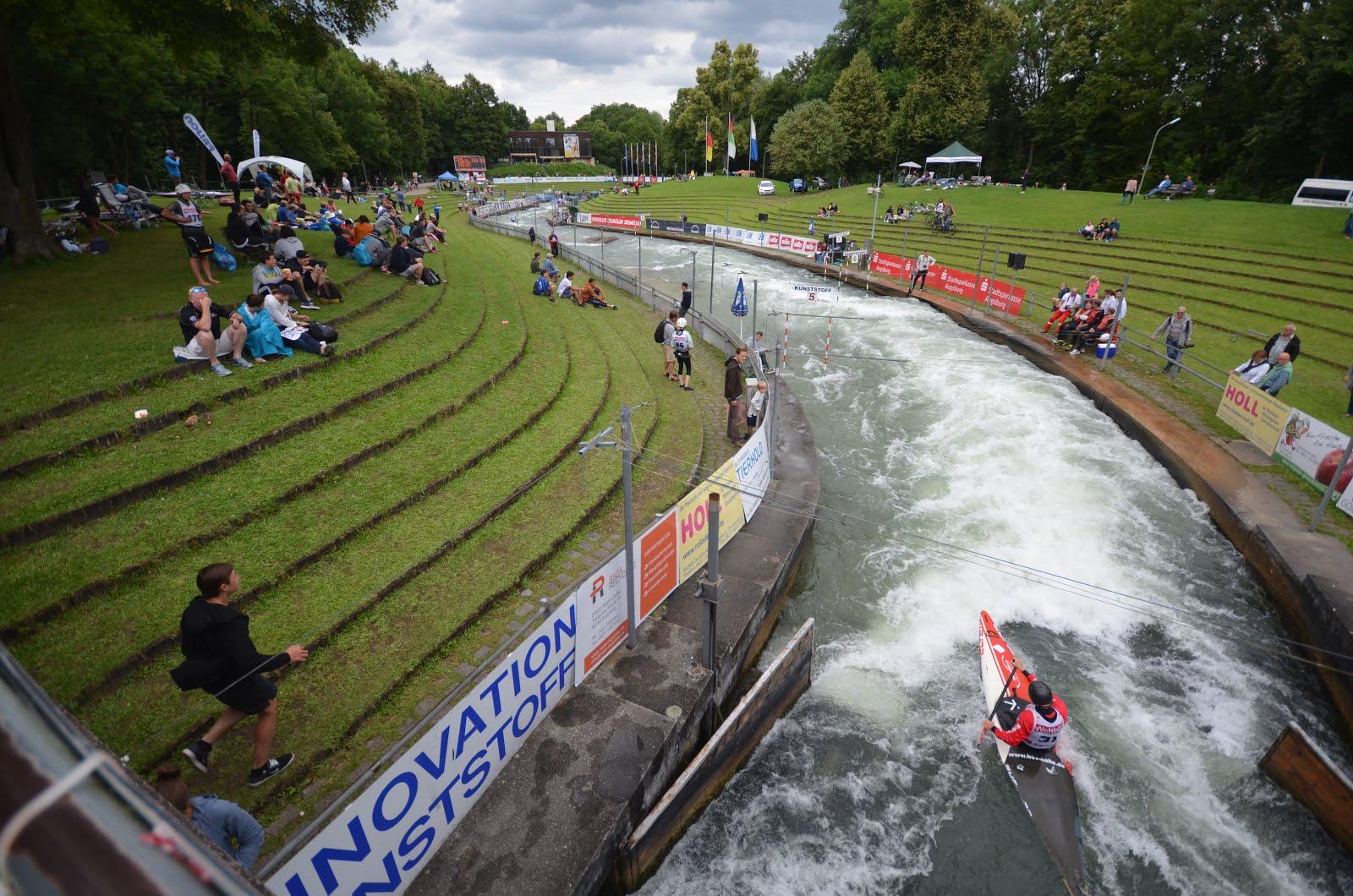 Hardys Augsburg canoe slalom nz junior u23 teams eca cup race 4 5 augsburg