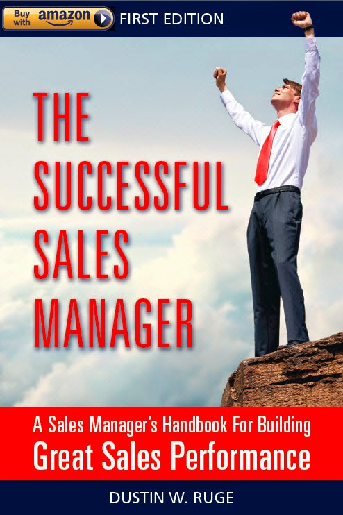 The Successful Sales Manager Book now on Amazon.com