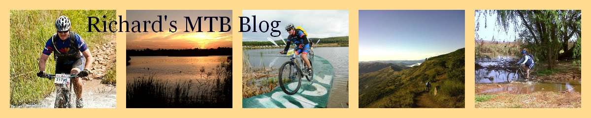 Richard's Mountain Biking Diary