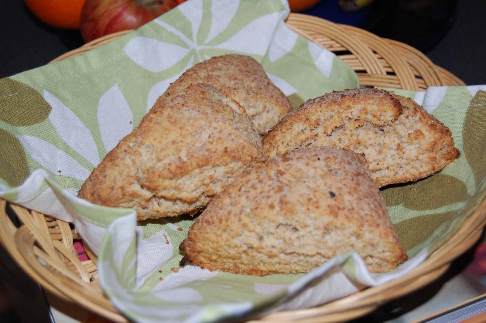 scones med grahamsmjöl