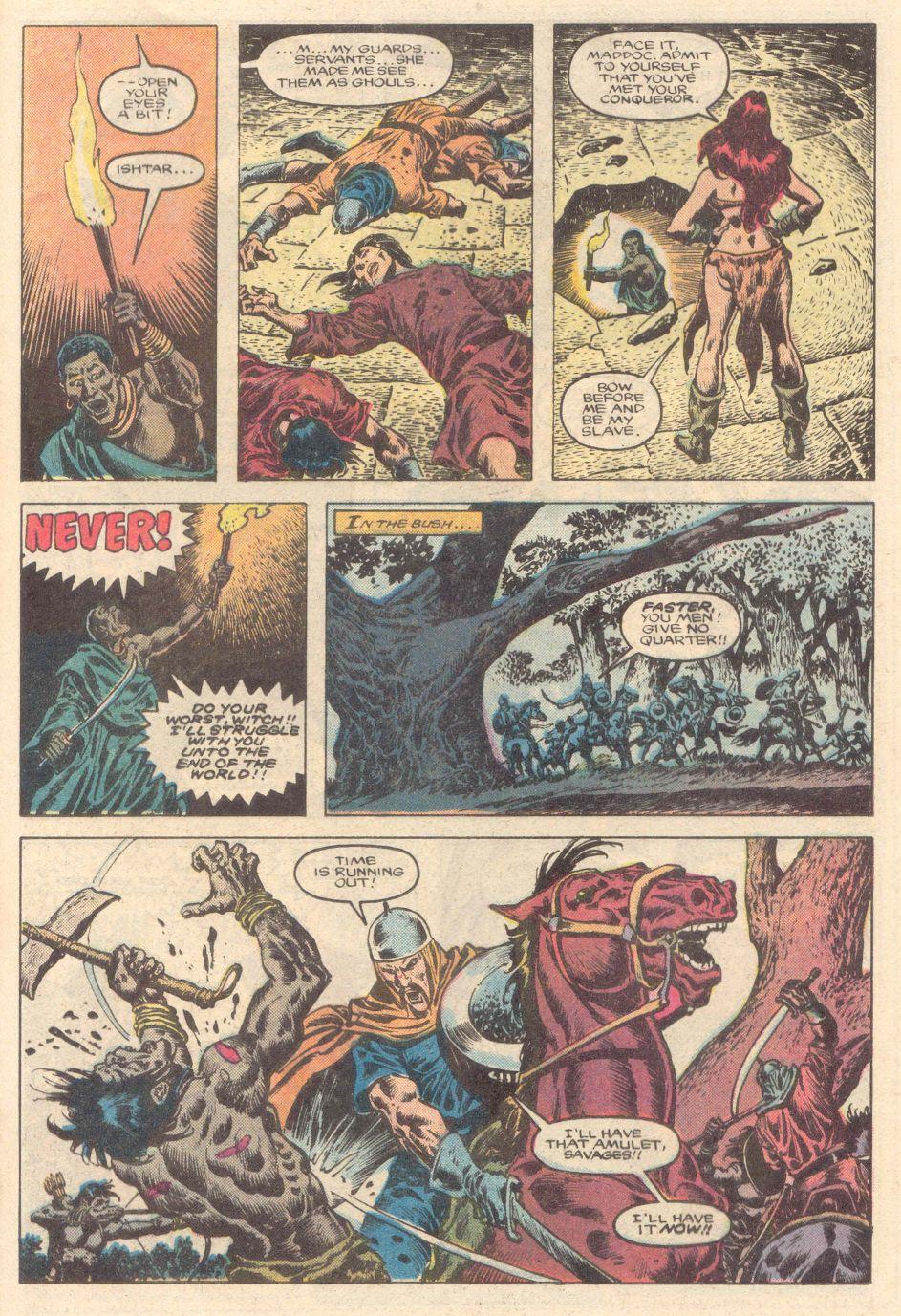 Conan the Barbarian (1970) Issue #183 #195 - English 16