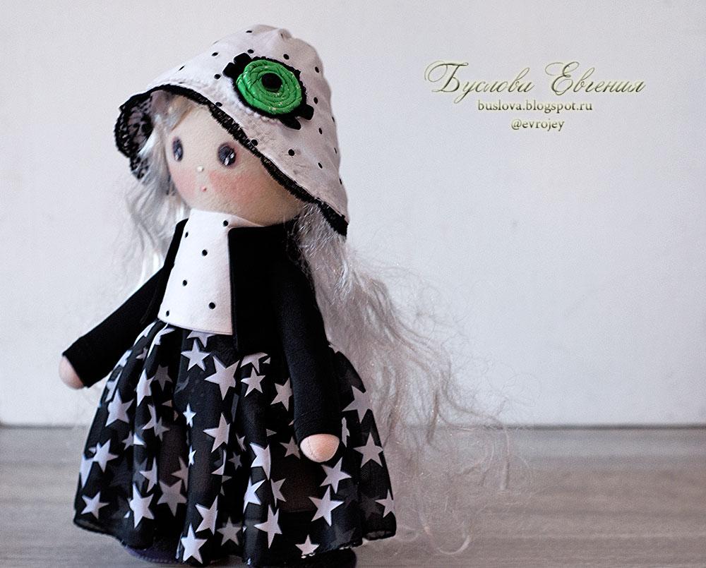 кукла, игрушки, Буслова Евгения, текстильная кукла, тильда, ручная работа