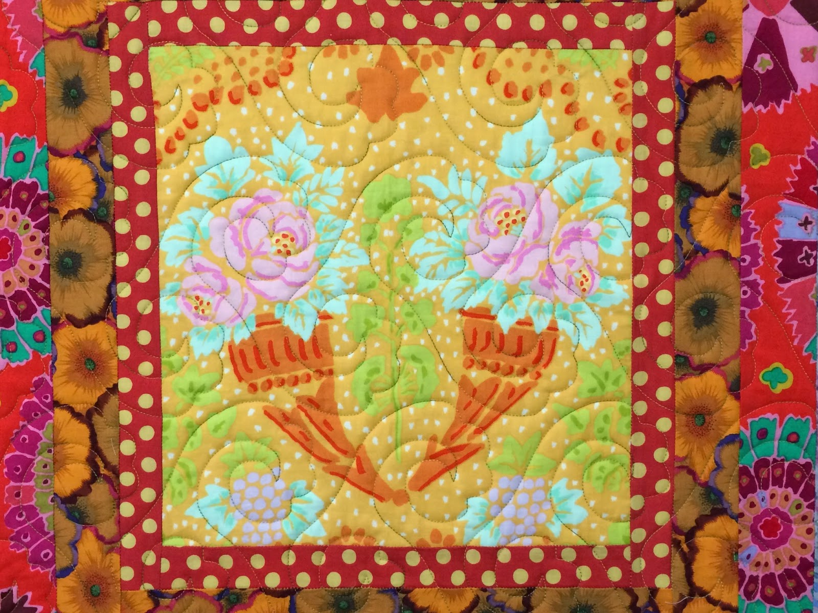 Jean Tucker Medallion Quilt