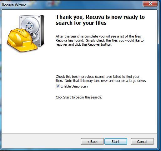 Cara mengembalikan file yang terhapus 9