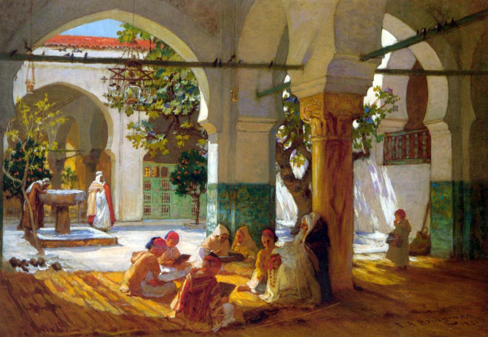 19th Century American Paintings Frederick Arthur Bridgman