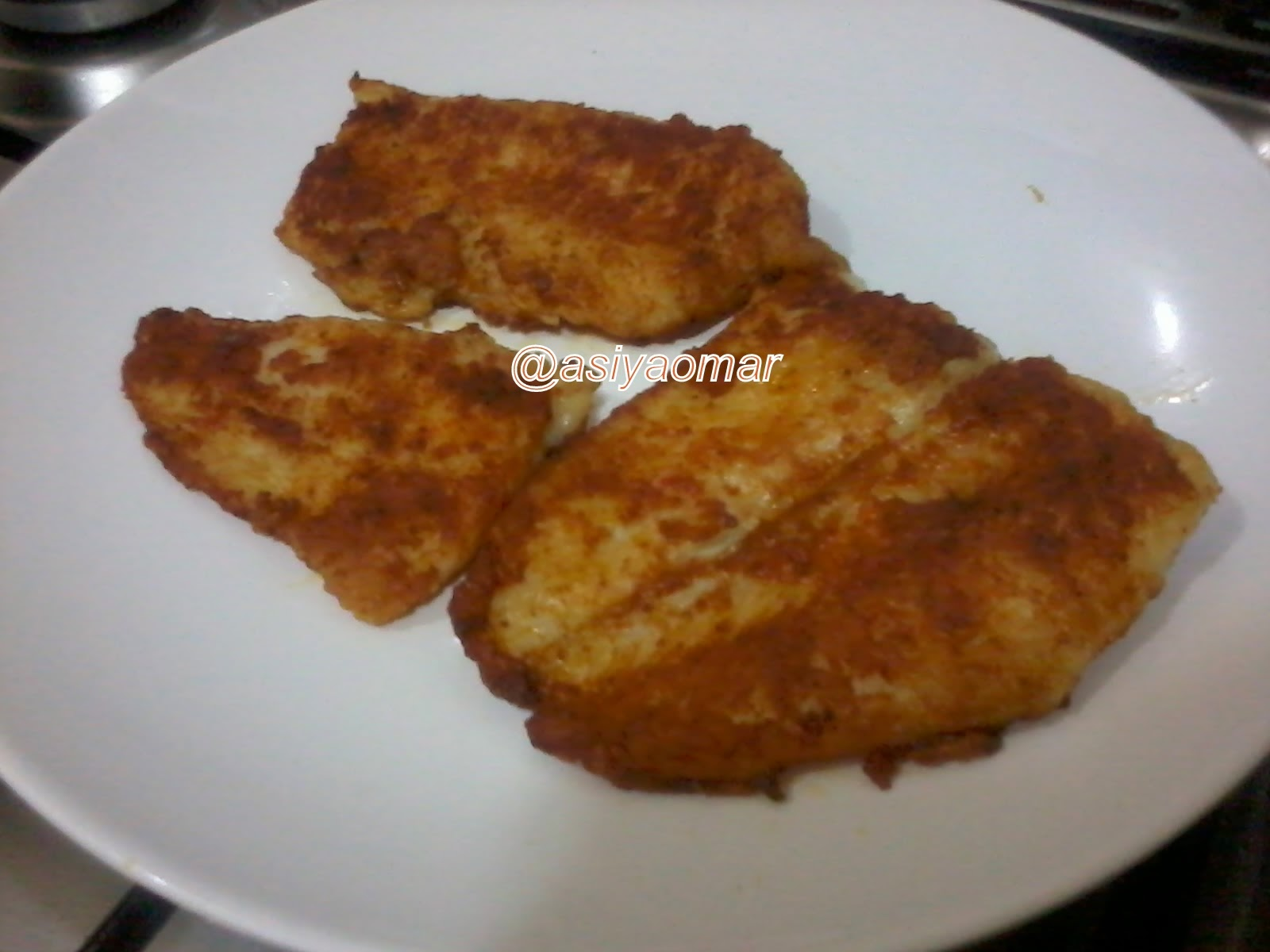 My healthy happy kitchen pan fried fish fillet for Pan fried fish fillet recipes