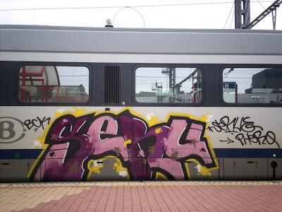 SERU bck graffiti crew