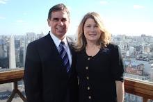 Presidente y Hermana Benton