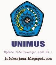 Lowongan Kerja UNIMUS (Universitas Muhammadiyah Semarang)
