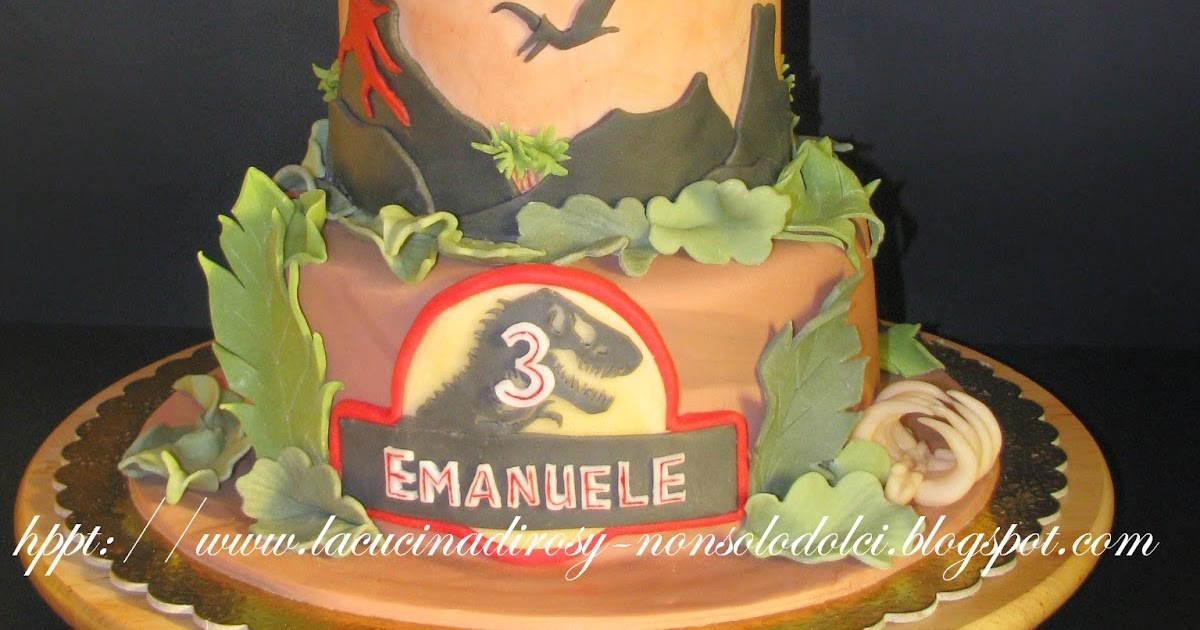 Le torte decorate di rosy torta t rex for Decorazioni torte ladybug