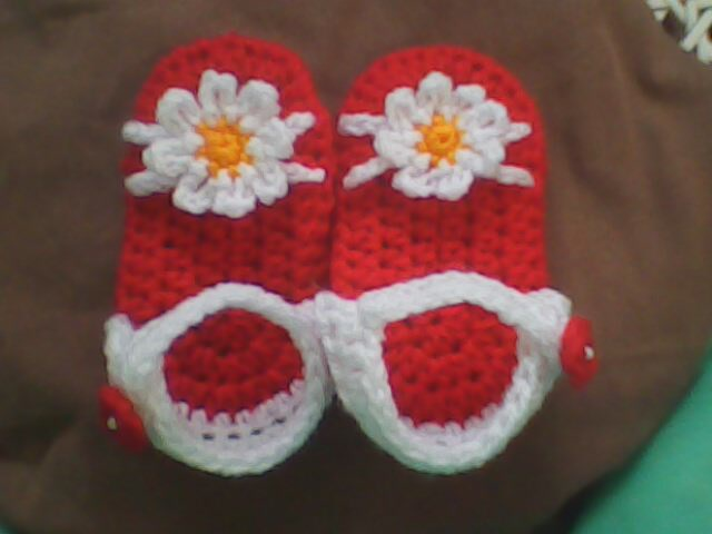 Everything`s Crochet: ? CROCHET BABY SANDAL