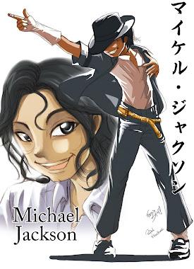 Clique na caricatura e acesse Blog Michael Jackson