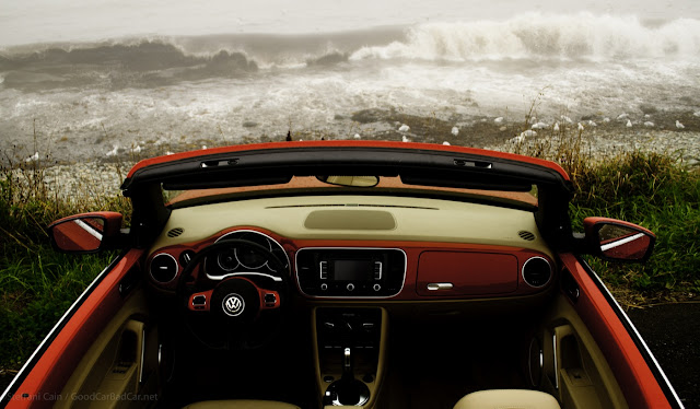 2013 Volkswagen Beetle Convertible interior beach