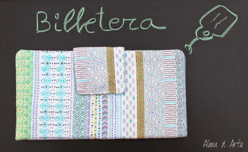 Billetera de mujer handmade