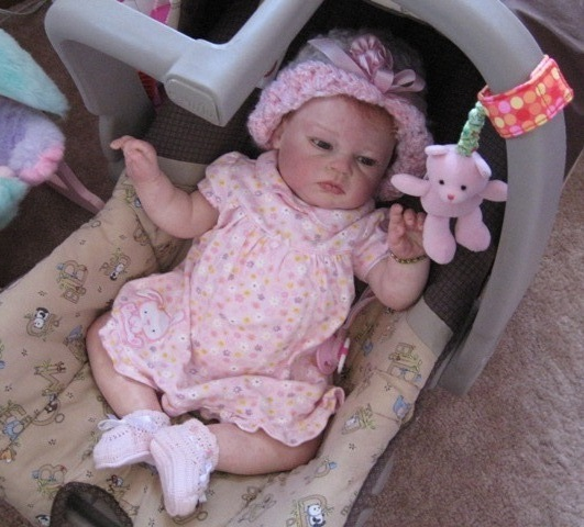Cindybin: REBORN BABY DOLL CHELSEA\'S NEW TOY AND DRESS