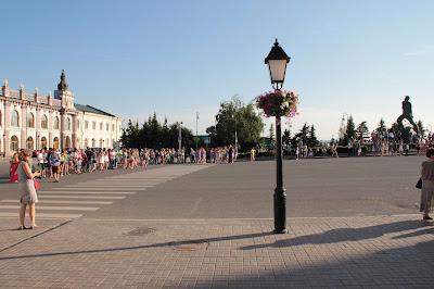 флешмоб на площади Первого мая