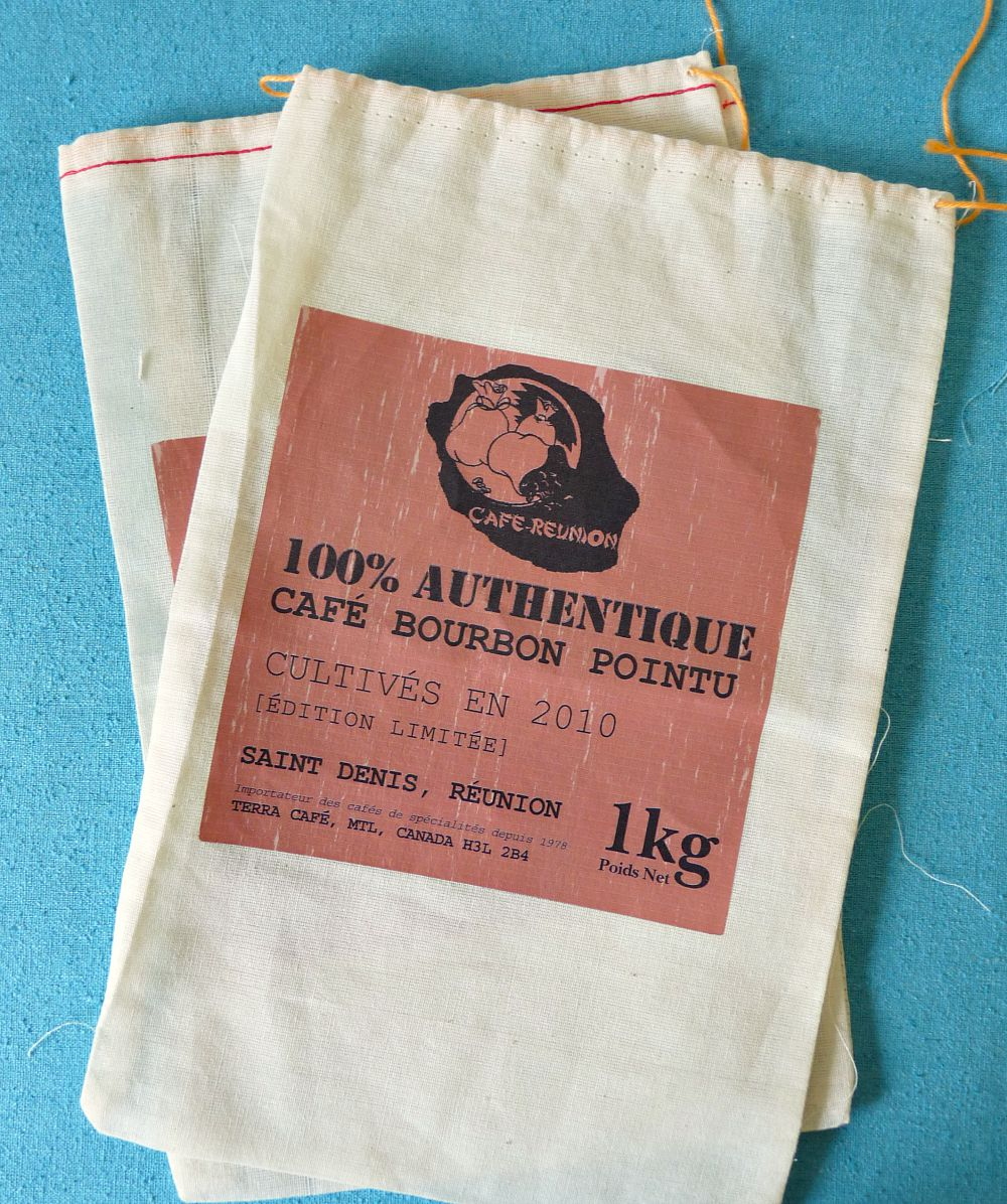 Coffee sack craft