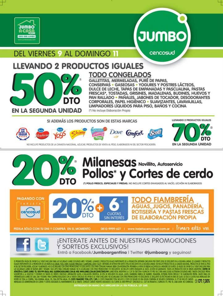 Ofertas y promos en argentina promo jumbo fin de semana - Jumbo mobel discount ...