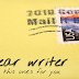Dear Writer