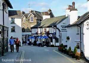 beautiful village Hawkshead England