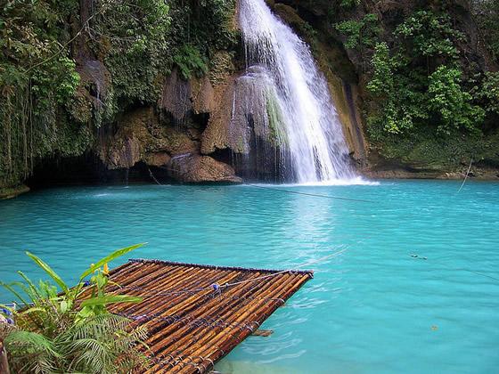 Beautiful waterfall in thailand s erawan waterfalls national park - 5 Cool Waterfalls In Southeast Asia World Travel Agency