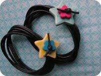 Armbånd med keramisk stjerne DIY