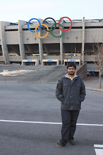 The Blogger at the Seoul Olympic Stadium