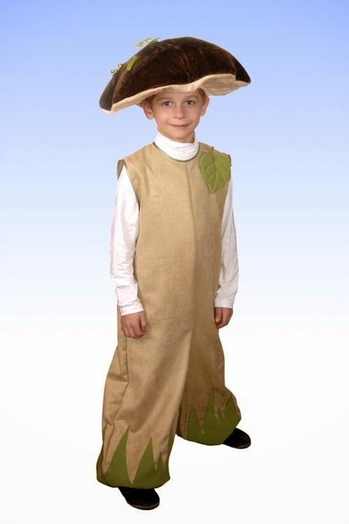 Как сделать костюм гриба для ребенка своими руками