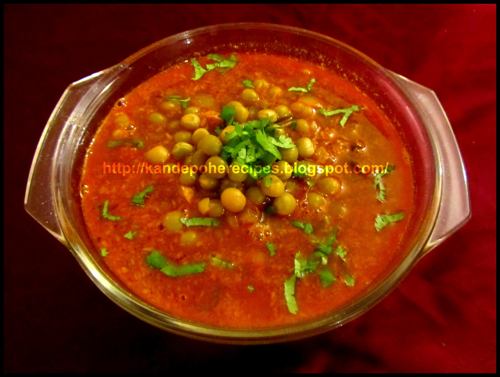 Green Peas Curry Spicy-Aroma