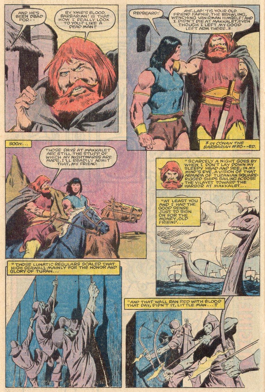 Conan the Barbarian (1970) Issue #161 #173 - English 6