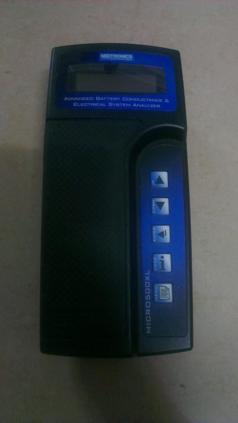 Midtronics Battery Tester : Midtronics xl mcr battery analyzer digital tester