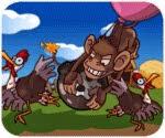 Game khỉ đột thả bom,