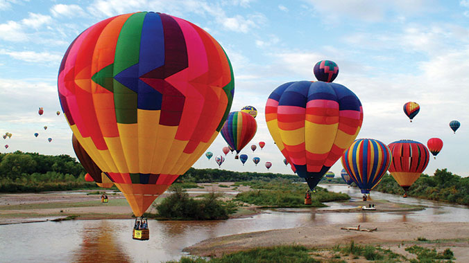 Ballooning in Albuquerque