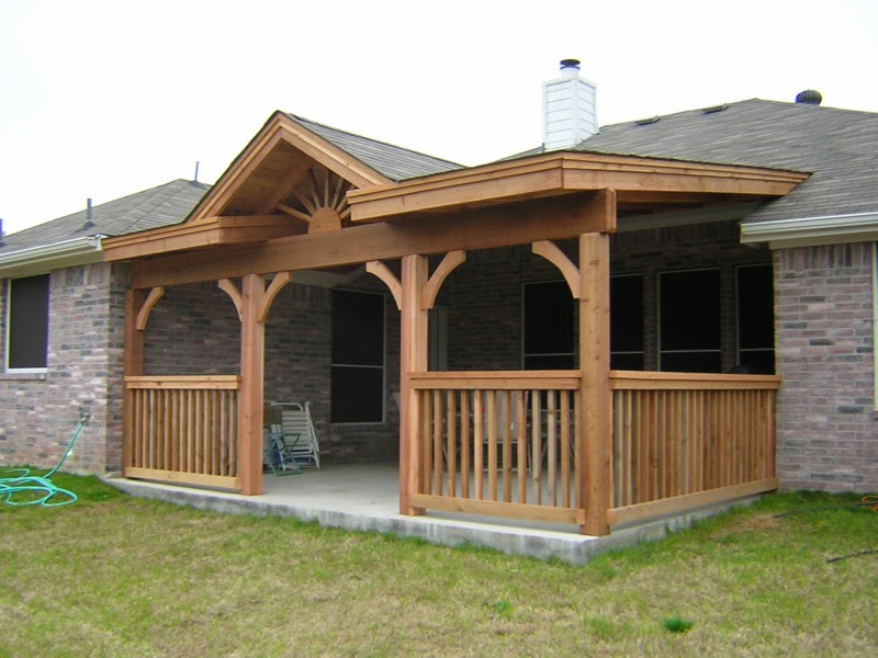 Covered patio ideas for Patio construction ideas
