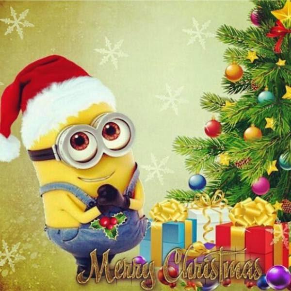 Merry Christmas. Minion. - #MerryChristmas #Minion