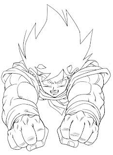 Desenhos do Goku