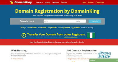 domainking cheap web hosting nigeria