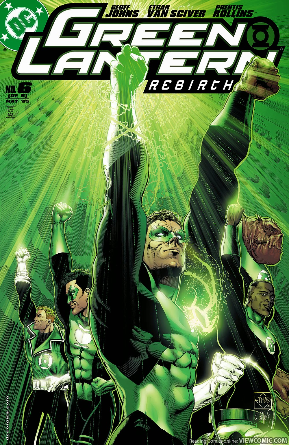 Image result for green lantern rebirth